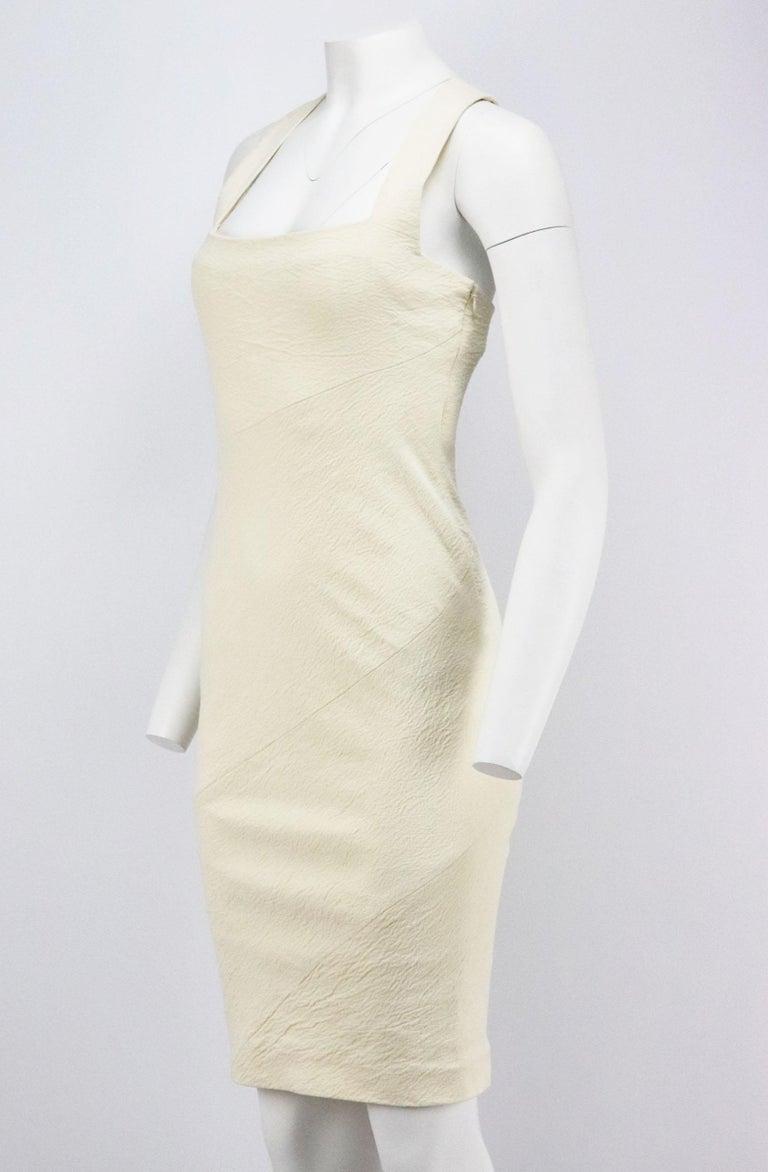 Beige Donna Karen New York Stretch Linen Blend US 6 UK 10 For Sale