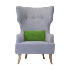 Donna Light Gray Armchair