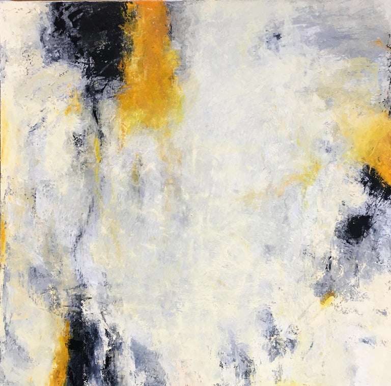 Donna McGinnis Abstract Painting - Stating Point
