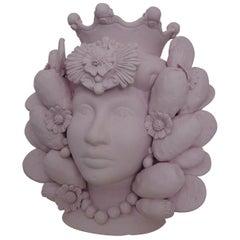 Donna Rosa Head Vase