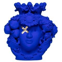 Donna Rosalia Blue Oltremare Vase