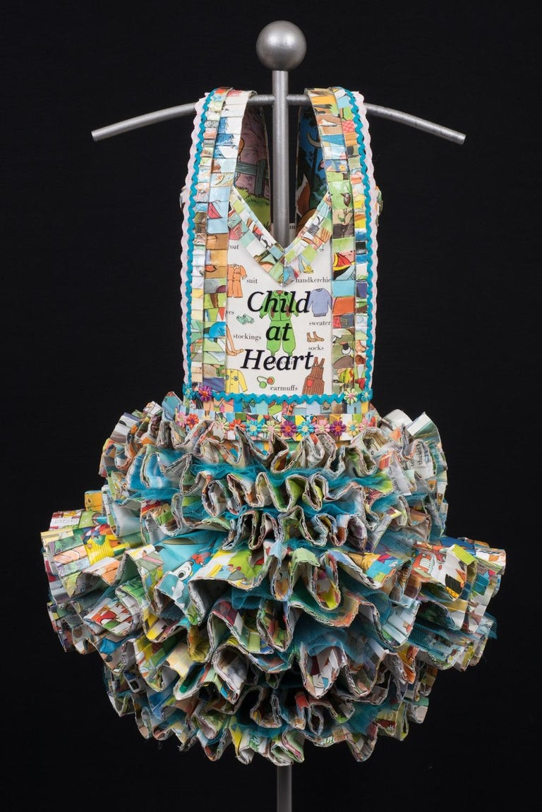 My Fair Ladies Series - Child at Heart - Sculpture by Donna Rosenthal