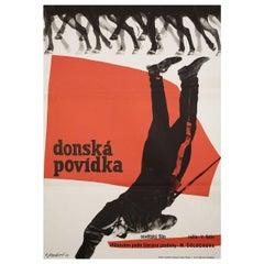 Donskaya povest 1965 Czech A1 Film Poster