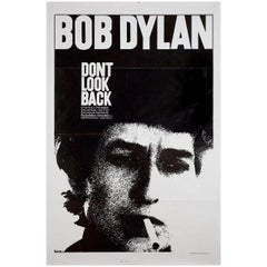 """""""Don't Look Back"""" R1983 U.S. One Sheet Film Poster"""