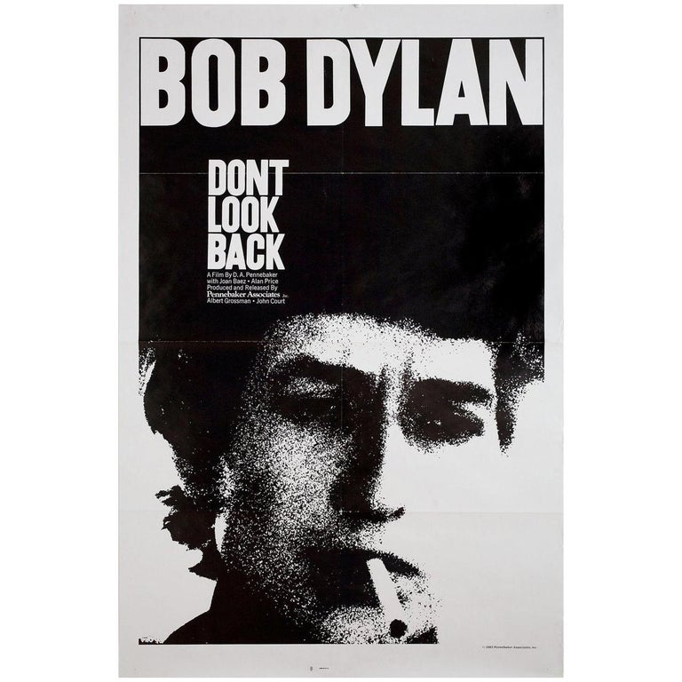 """""""Don't Look Back"""" R1983 U.S. One Sheet Film Poster For Sale"""