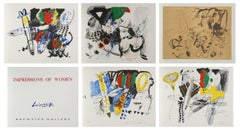 Impressions of Women, Suite of 5 Lithographs by Doo Shik Lee
