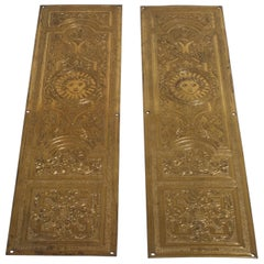 Door Finger Plates, circa 1885