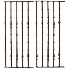 Door Grille, Wrought Iron, 17th Century