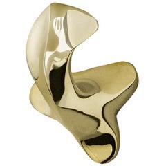 Door knob in solid brass Batlló no.2 by Antoni Gaudi