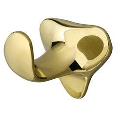 Door knob in solid brass Milà no.4 by Antoni Gaudi