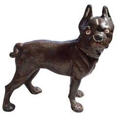 Doorstop Iron Dog 1915 Hubley