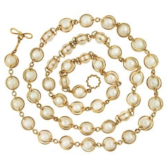 Doppio Smooth Pearls Necklace