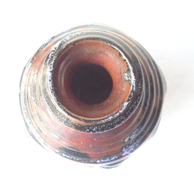Modern Dora De Larios Pottery/Ceramic Early Large Vase, Signed For Sale