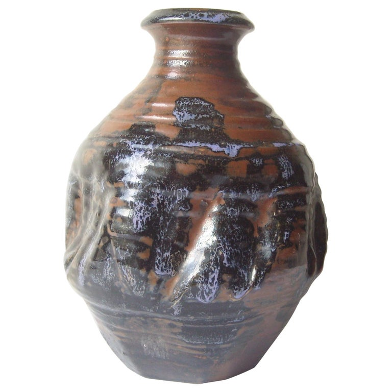 Dora De Larios Pottery/Ceramic Early Large Vase, Signed For Sale