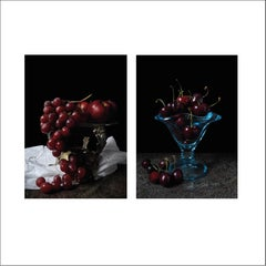 Grapes and Cerezas. Diptych
