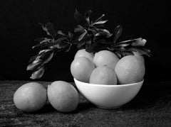 """Limones (B&W) From """"Bodegon"""" Series"""