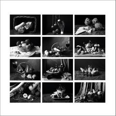 """Set of 12 archival pigment prints (B&W) From """"Bodegon"""" Series"""