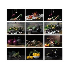 """Set of 12 archival pigment prints. From the series """"Bodegones"""""""