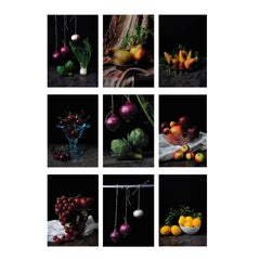 """Set of 9 archival pigment prints. From the series """"Bodegones"""""""