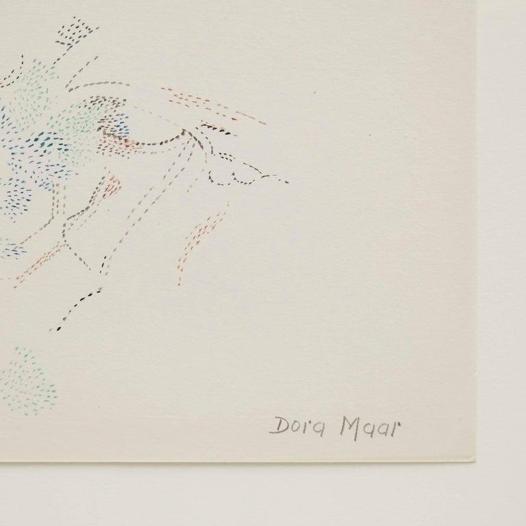Mid-Century Modern Dora Maar Drawing For Sale