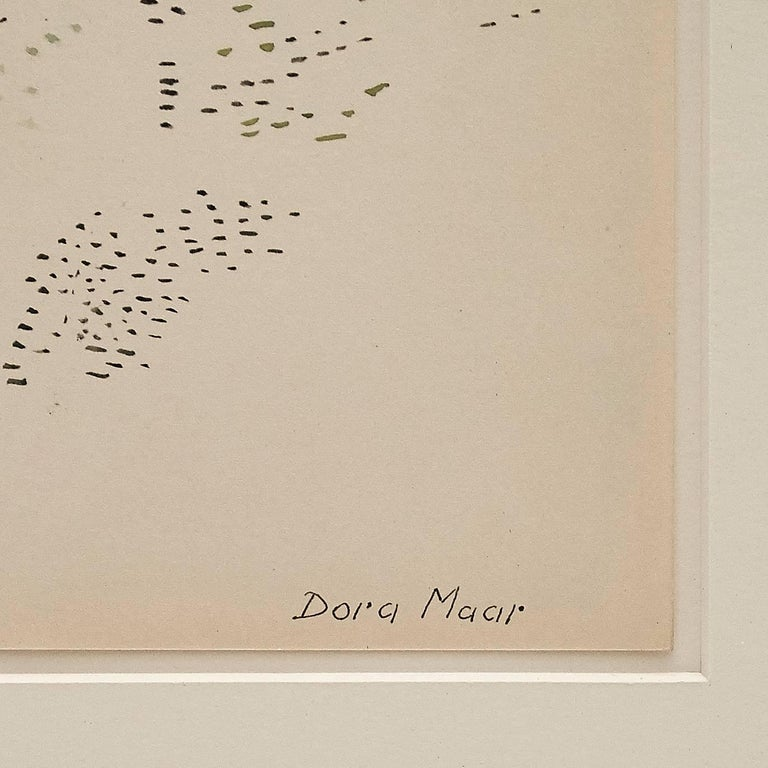 Mid-Century Modern Dora Maar Drawing For Sale