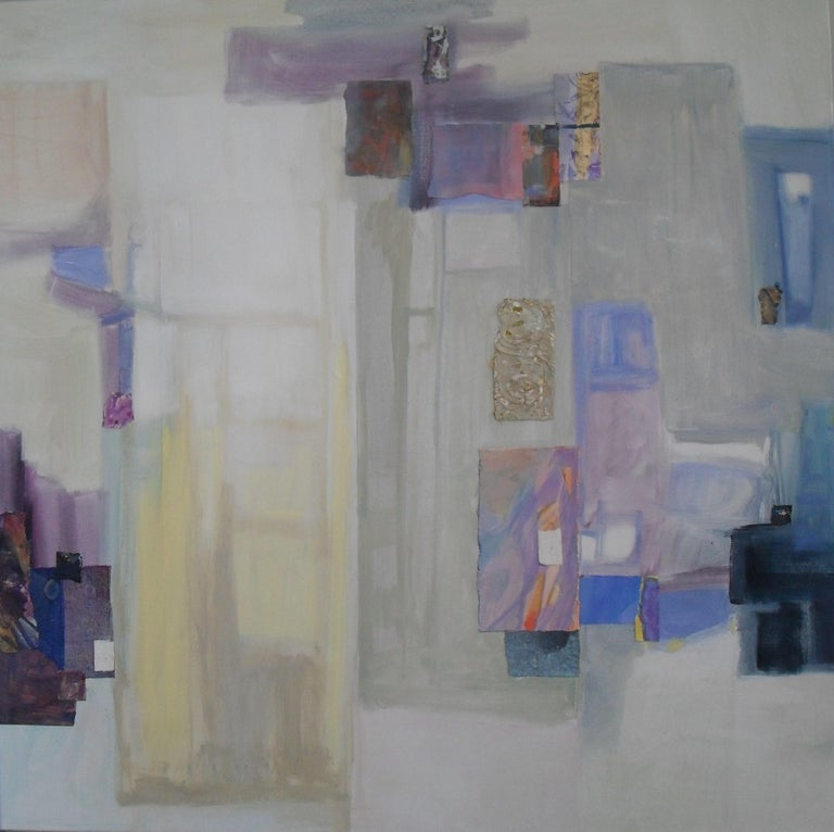 Dorate Muller Abstract Painting - Abstract Interior II