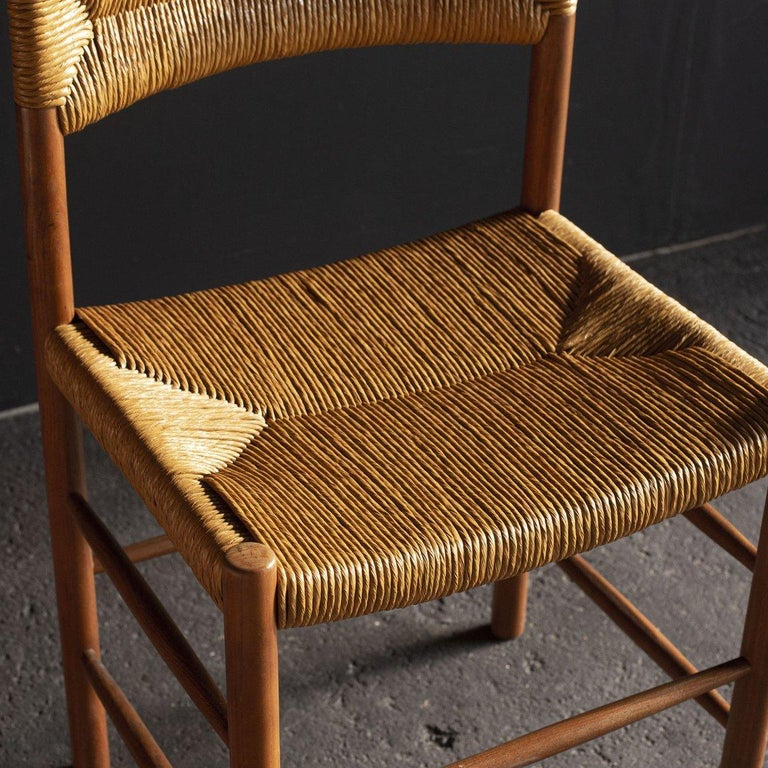 1960s / France Size W470 D390 H770 SH450 mm  Dordogne chair manufactured by Robert Sentou. The seating has been reupholstered.