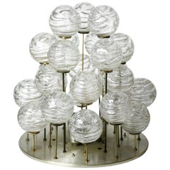 Doria Glass Ball Flushmount, Germany, 1960