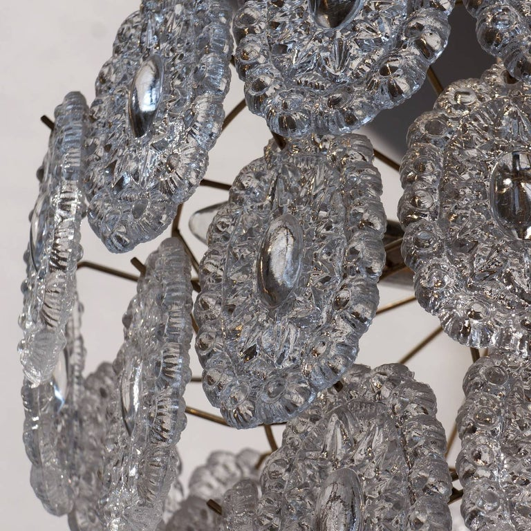 Two Doria Glass Chandeliers For Sale 3