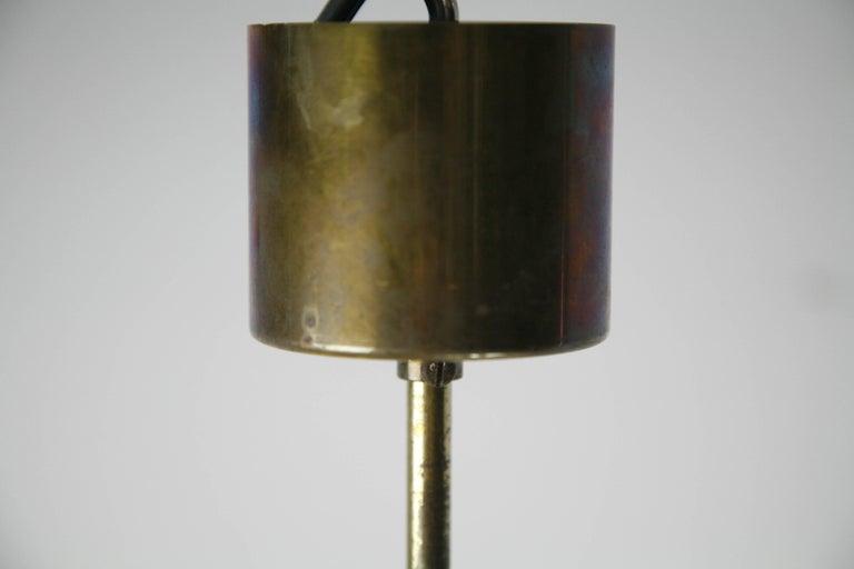 Doria Tubular Glass Chandelier, 1960s For Sale 6