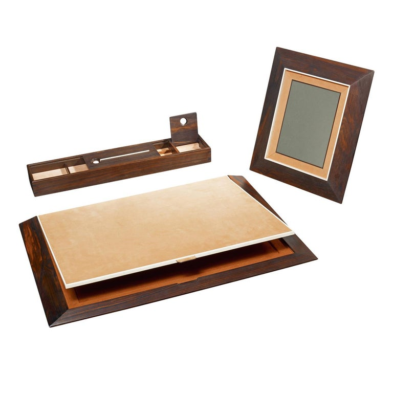 Italian Dorian Desk Pad For Sale
