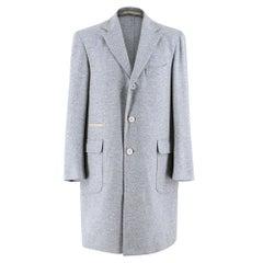 Doriani Single Breasted Cashmere Coat   estimated size M