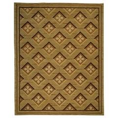 Doris Leslie Blau Collection Abusson Geometric Wool Rug by Matthew P Smyth