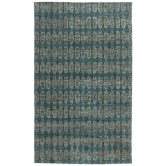 Doris Leslie Blau Collection Aegean Green Handmade Wool Rug