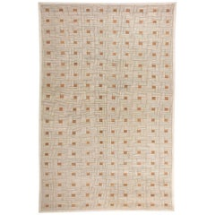Doris Leslie Blau Collection Art Deco Inspired Box Design Wool Rug