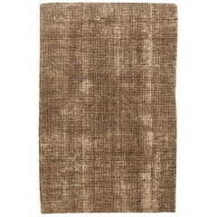 Doris Leslie Blau Collection Asbury Cocoa Hand Knotted Wool Rug