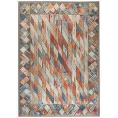 Doris Leslie Blau Collection Aubusson Design Handmade Wool Rug