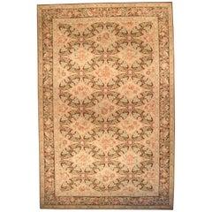 Doris Leslie Blau Collection Bassarabian Style Floral Wool Rug