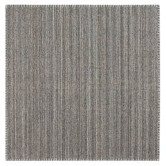 Doris Leslie Blau Collection Bauer Pattern-Less Rug III in Gray and Brown