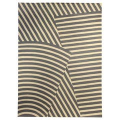 Doris Leslie Blau Collection Berber Hills Gray & Yellow Wool by Kim Alexandriuk