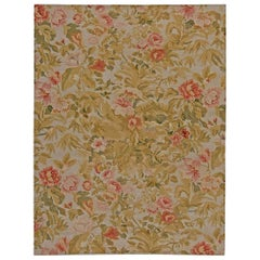 Doris Leslie Blau Collection Bessarabian Floral Handwoven Wool Carpet