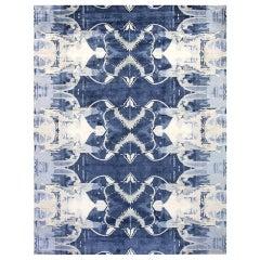 Doris Leslie Blau Collection Blucie Design Handmade Silk Rug