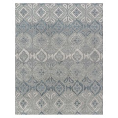 Doris Leslie Blau Collection Blue-Grey Mandorla Rug