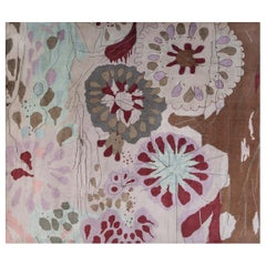 Doris Leslie Blau Collection Contemporary Silk Rug