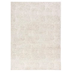 Doris Leslie Blau Collection Contemporary Traditional Inspired Floral Rug