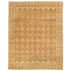 Doris Leslie Blau Collection European Inspired Tibetan Handmade Wool Rug
