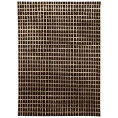 Doris Leslie Blau Collection Geometric Black Magic Rug