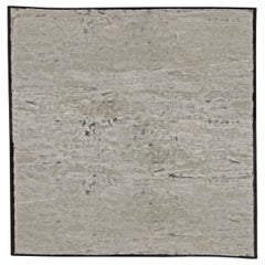 Doris Leslie Blau Collection Gray Handmade Wool Rug
