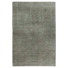 Doris Leslie Blau Collection Greek Key Design Silk and Wool Rug