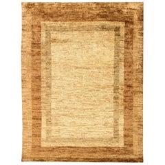 Doris Leslie Blau Collection Hemp Brown and Beige Carpet